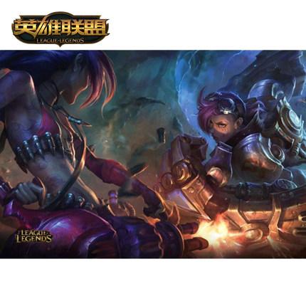 海外充值英雄联盟LOL 猫鼠游戏 精美海报