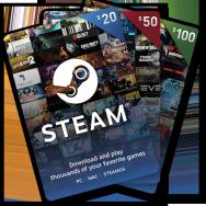 美国Steam充值卡